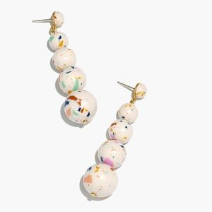 NWT Madewell Confetti Ball Drop Earrings (Rare)